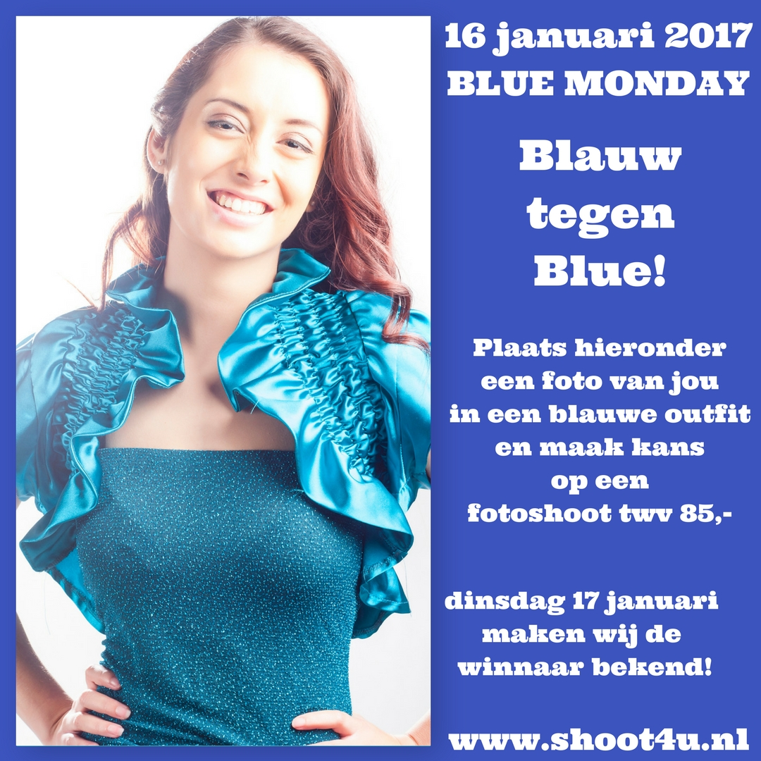 Shoot4U Blue Monday #BlauwtegenBlue